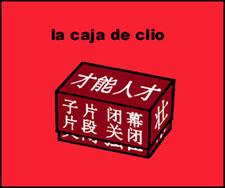 la caja de clio (I)
